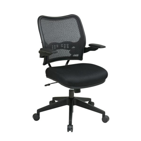 Office Star Products Black AirGrid Back Office Chair 13-37N1P3
