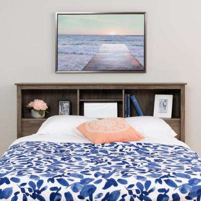 Salt Spring Drifted Gray Double/Queen Headboard