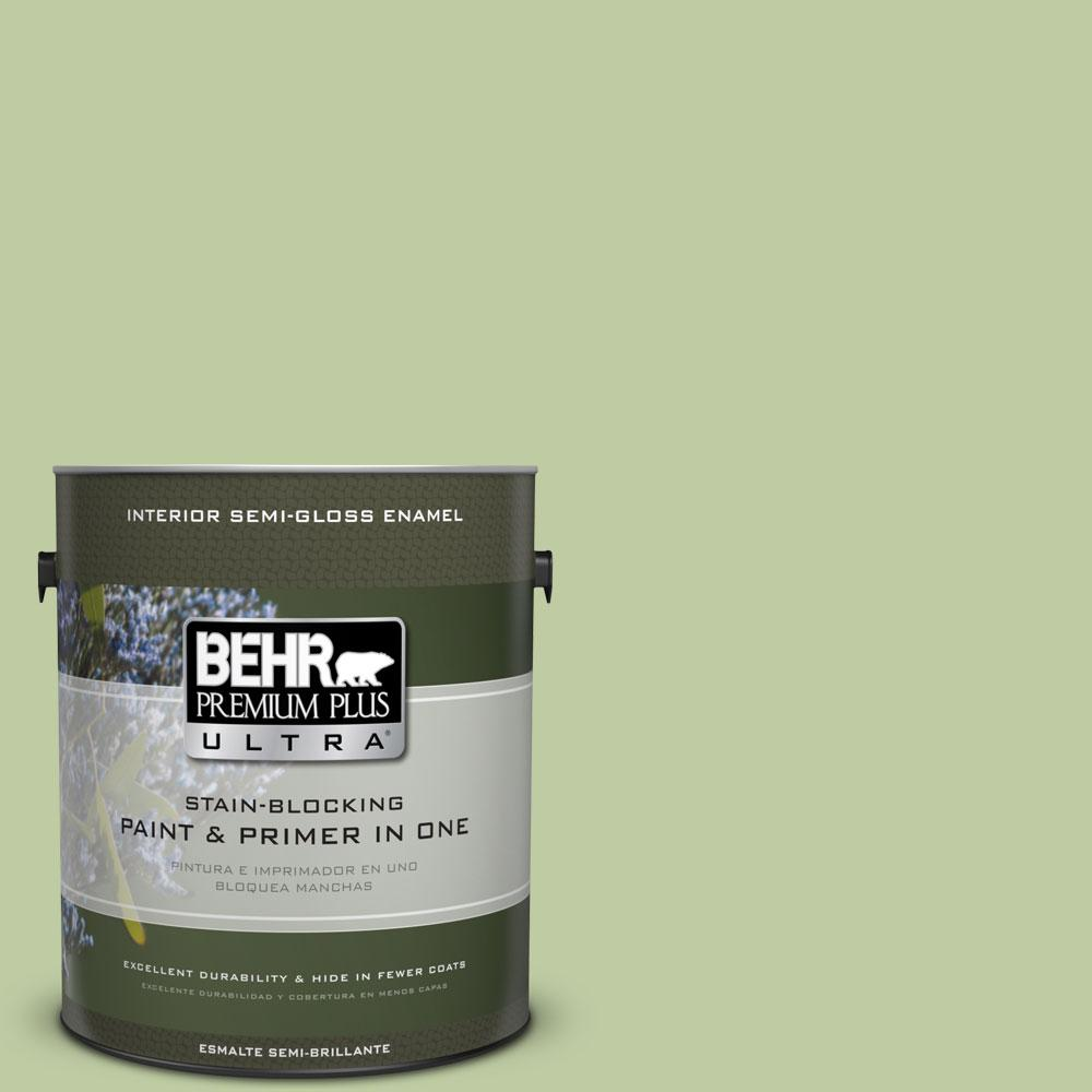 BEHR Premium Plus Ultra 1-gal. #M360-4 Marjoram Semi-Gloss Enamel Interior Paint
