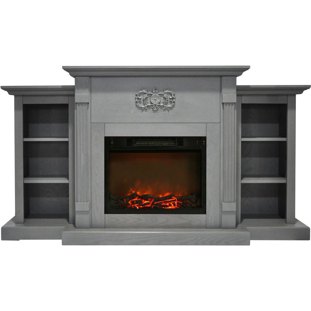 Electric fireplaces are an easy way to add warmth and character to your home. If you are looking for an multi-functional statement piece