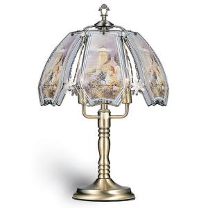 ORE International 24 inch Lighthouse Black Chrome Touch Lamp by ORE International