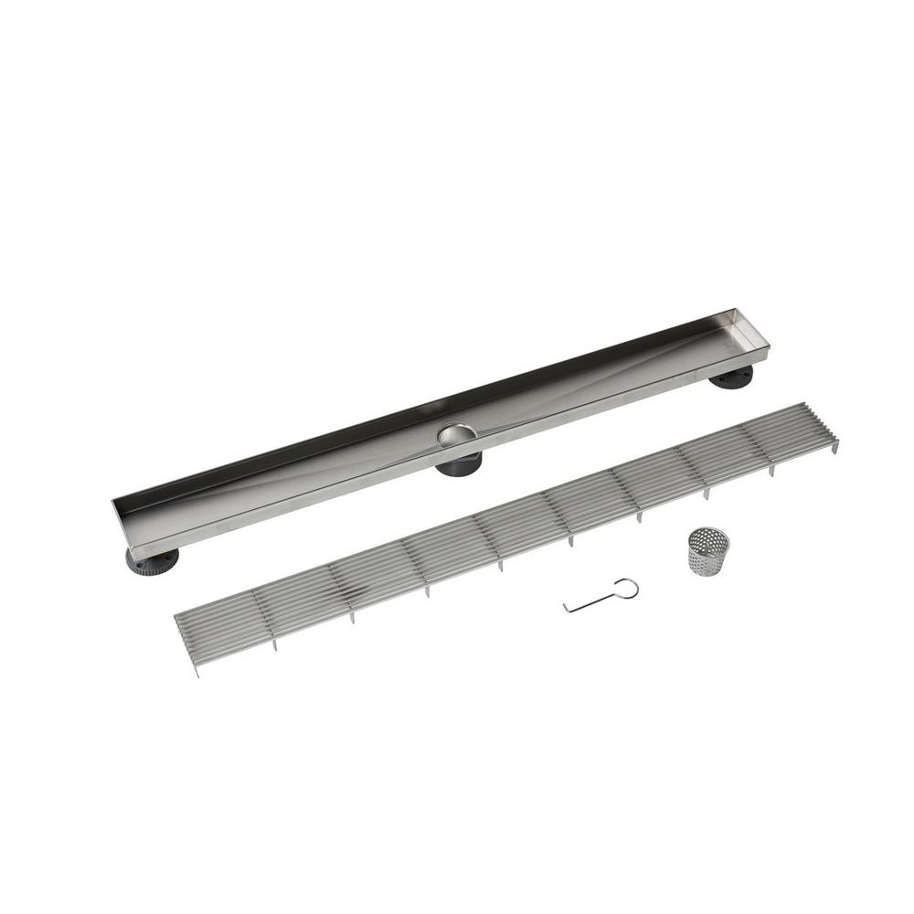 32 in. Stainless Steel Linear Drain Wedge Wire Grate
