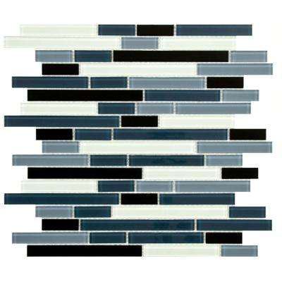 Black - Glass - Mosaic Tile - Tile - The Home Depot