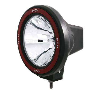 Hid Off Road Light Universal 7in HID Off Road Fog Lamp w/ AnzoUSA Red bezel