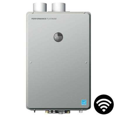 Performance Platinum 9.0 GPM Natural Gas High Efficiency Indoor Smart Tankless Water Heater