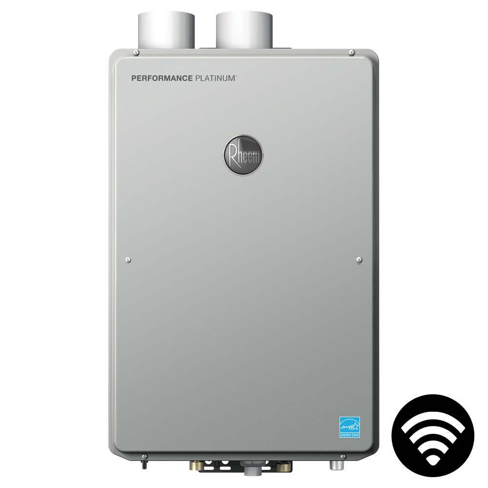 Performance Platinum 9.5 GPM Liquid Propane High Efficiency Indoor Smart Tankless Water Heater