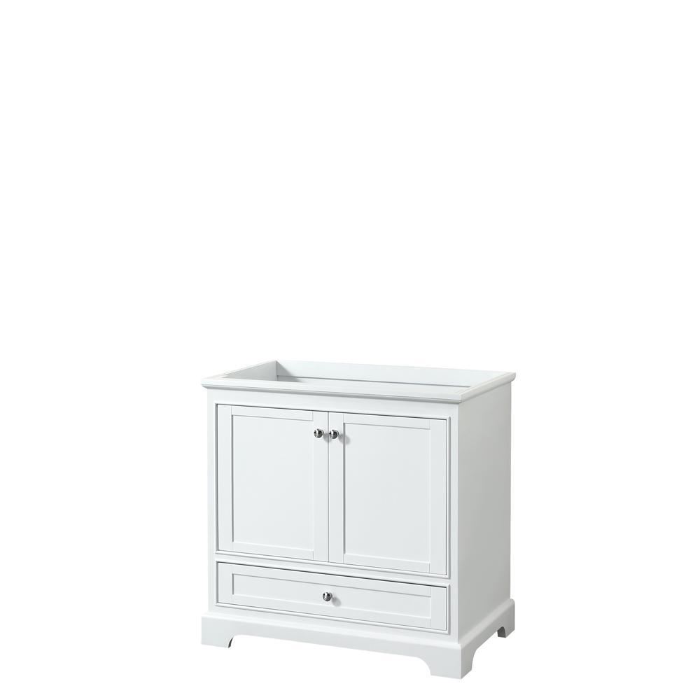 Deborah 35.25 in. W x 21.5 in. D Vanity Cabinet in