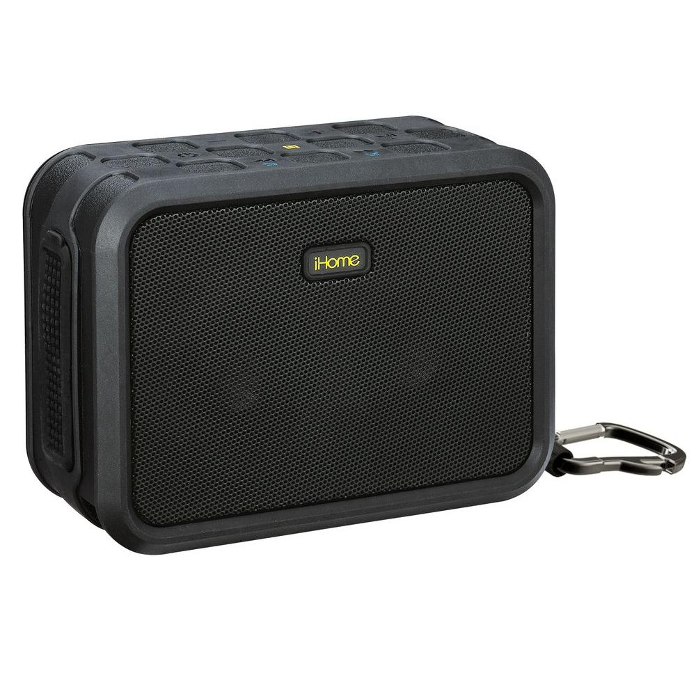 iHome Bluetooth Waterproof Speaker-iBN8BC - The Home Depot