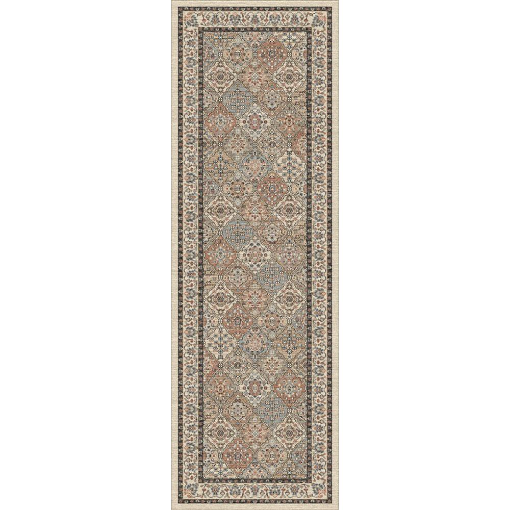 Linden Ivory 2 ft. 6 in. x 8 ft. Indoor Runner