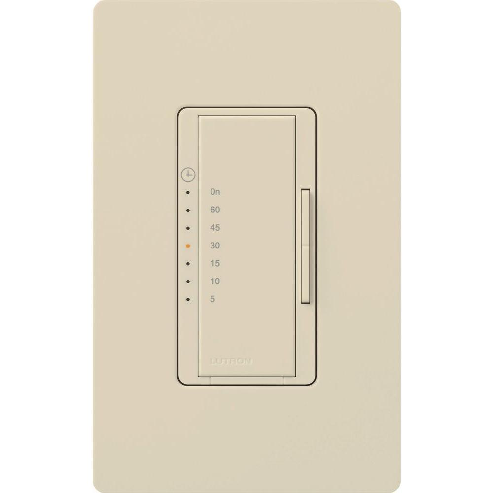 Maestro 5 Amp In-Wall Digital Timer - Eggshell