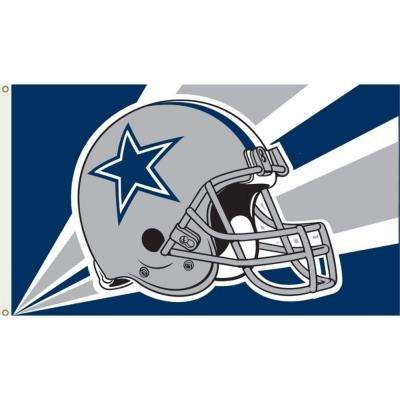 3 ft. x 5 ft. Polyester Dallas Cowboys Flag