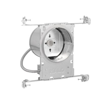 H7 6 in. Aluminum Recessed Lighting Housing for New Construction Ceiling, Insulation Contact, Air-Tite (6-Pack)