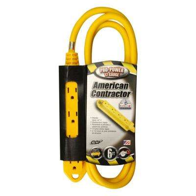 100 ft. 14/3 SJEOW Outdoor Extension Cord with Lighted End