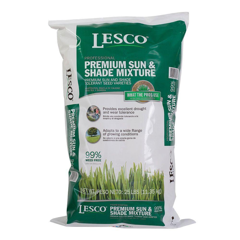 LESCO Premium 20 lb. Sun and Shade Seed Mix
