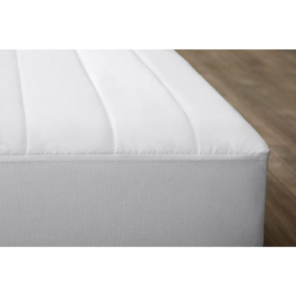 Under BED MICROFIBRE MATTRESS PROTECTOR MATTRESS TOPPER Clamping Pad Cover Sheet