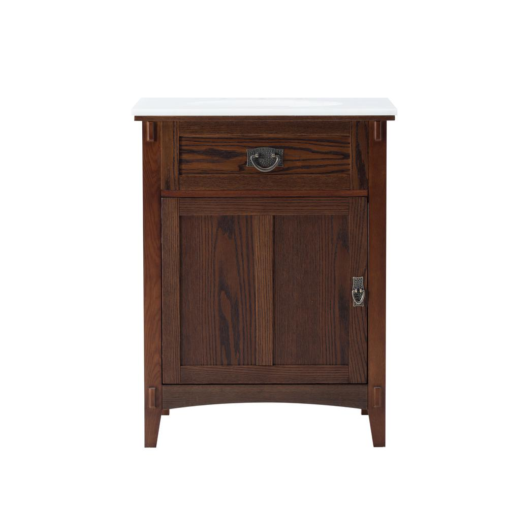 home decorators collection artisan vanity home decorators collection artisan 26 in w vanity in 12791