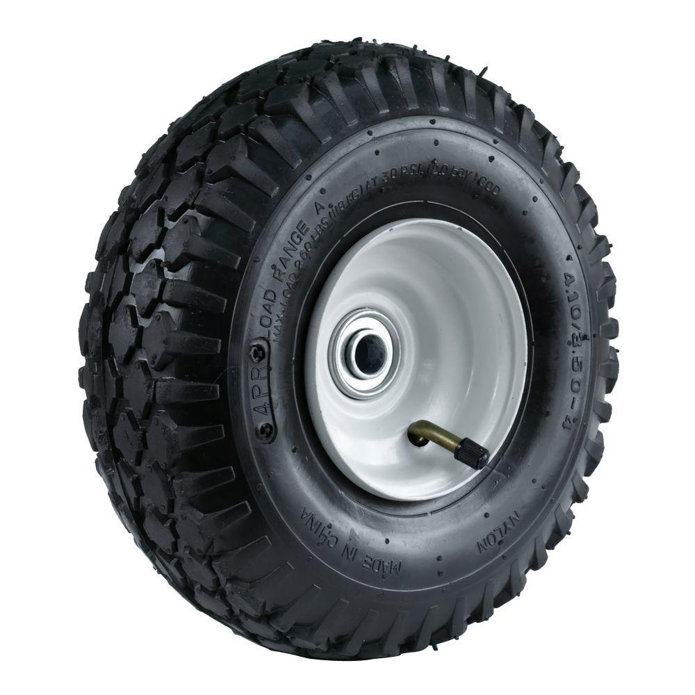 Martin Wheel 4 10 3 50 4 10 In Stud Tread Hand Truck