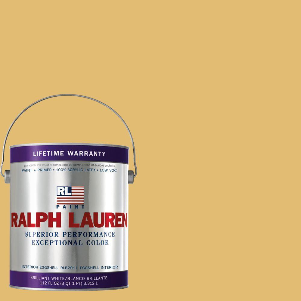 Ralph Lauren 1-gal. Grand Yellow Eggshell Interior Paint