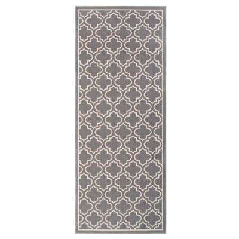 Trellis Grey 2 ft. 6 in. x 4 ft. Accent Rug