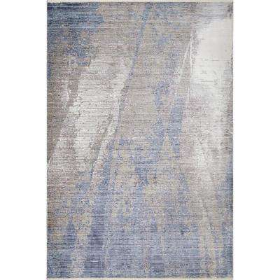 Beatrix Contemporary Silver 9 ft. x 12 ft. Area Rug