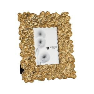 Gold Rush 1-Opening 5 inch x 7 inch Gold Aluminum Picture Frame by