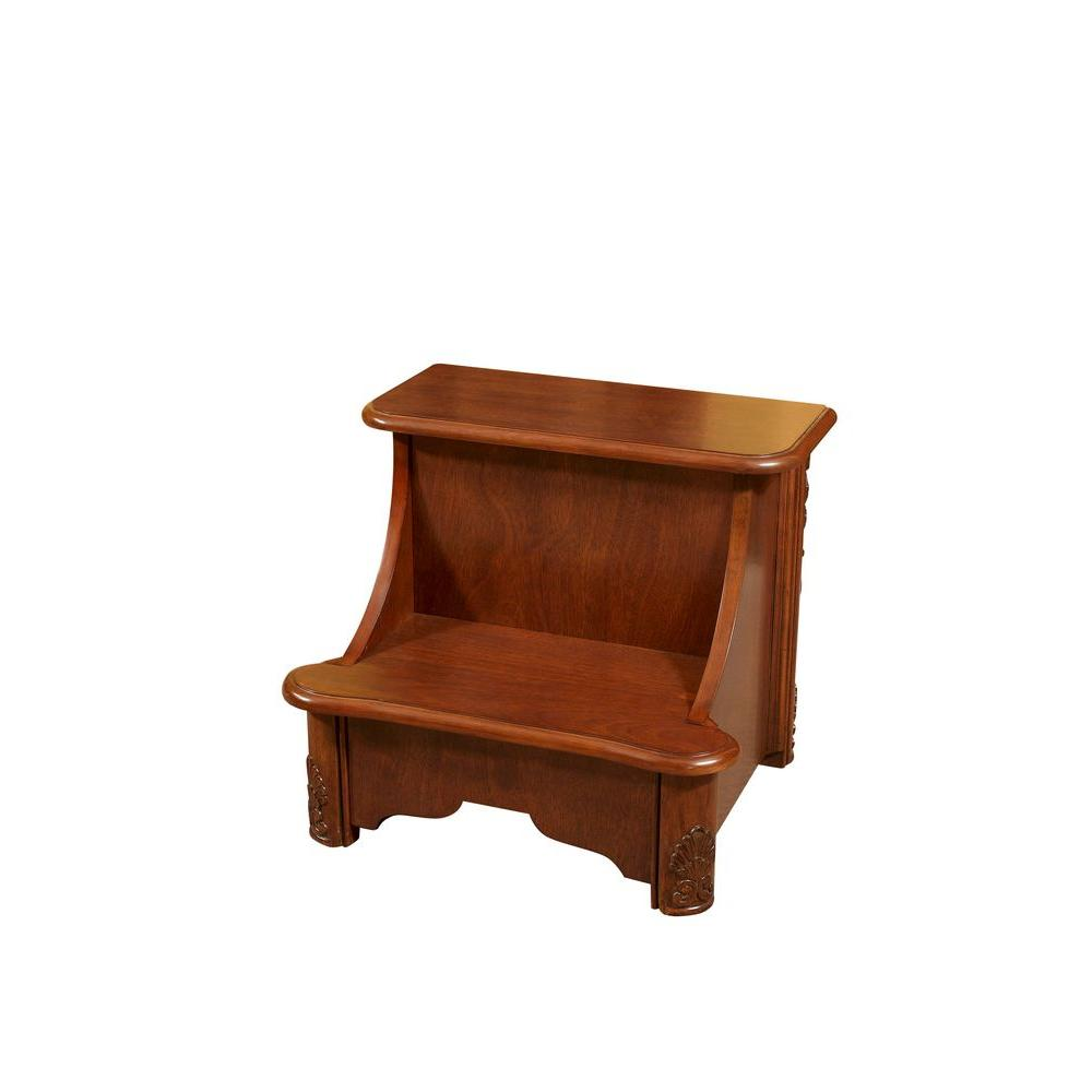 Delicieux Powell Woodbury Mahogany Bed Steps With Storage