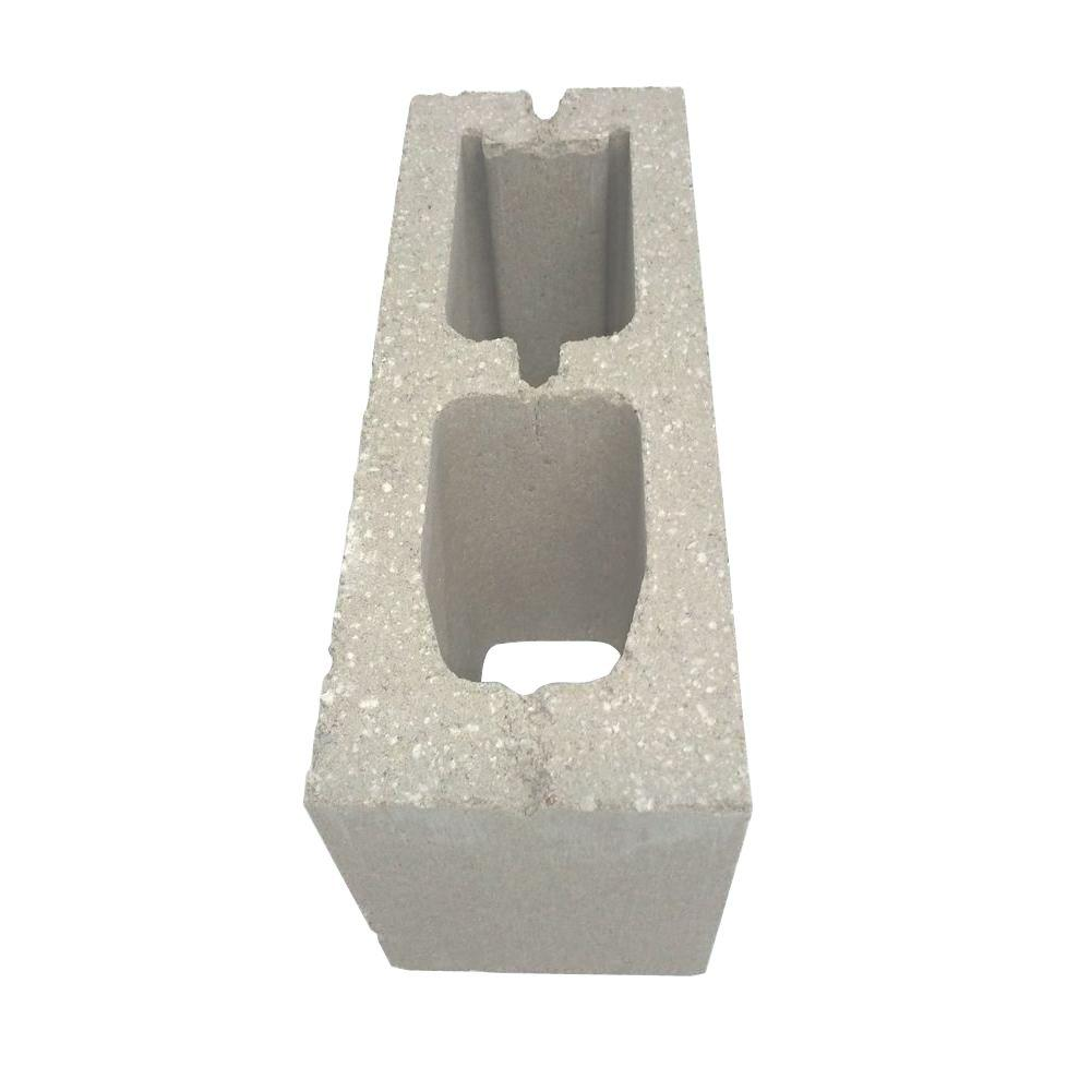 null 6 in. x 8 in. x 16 in. 28 lb. Standard Green Hollow Block (96/Pallet)