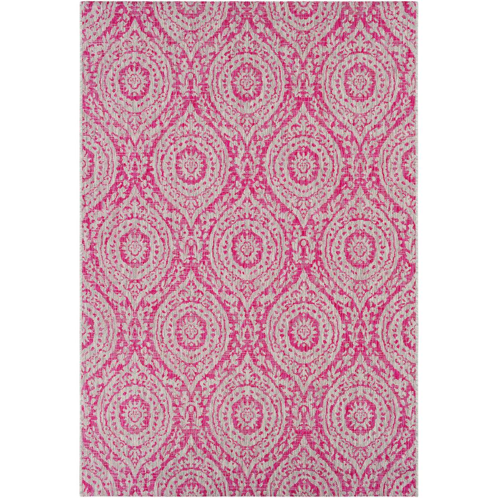 Bright Outdoor Area Rugs: Artistic Weavers Cranleigh Bright Pink 5 Ft. X 8 Ft