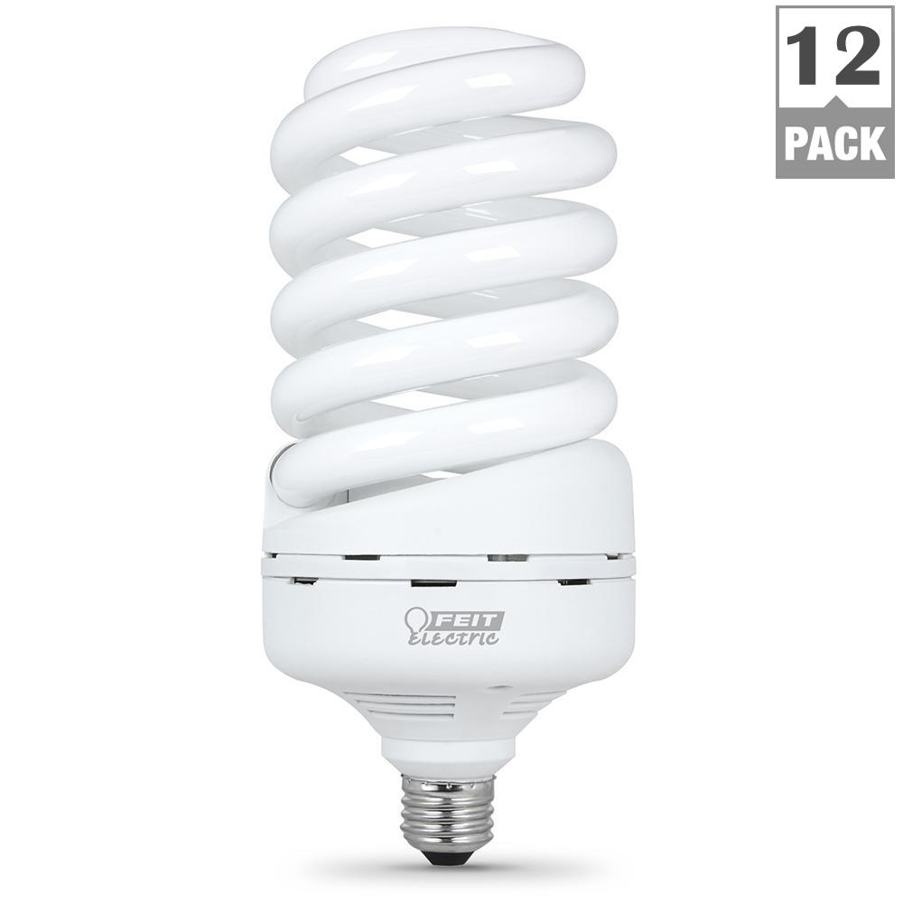 300W Equivalent Soft White (2700K) Spiral CFL Light Bulb (Case of