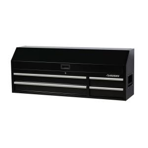 Husky 61 in. W x 15.8 in. D 4-Drawer Tool Chest with Power Strip
