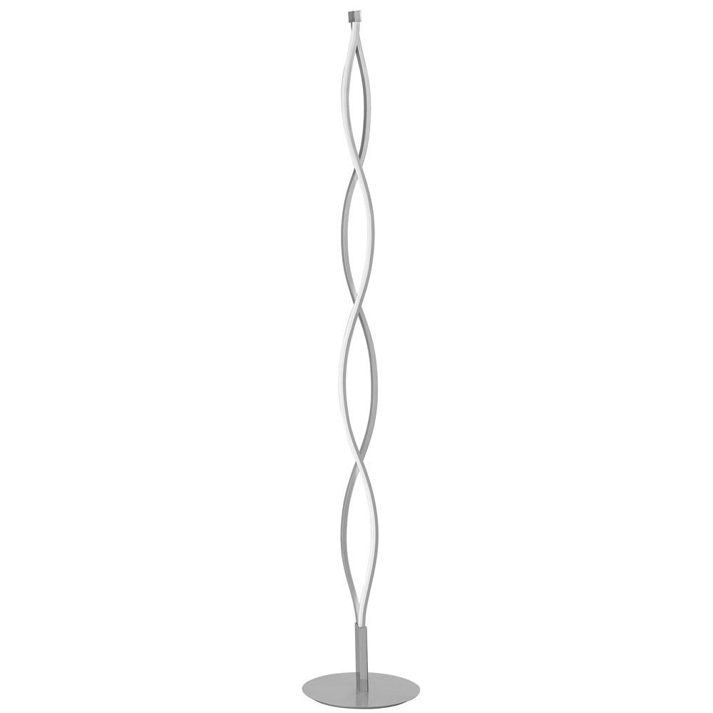 Filament Design 21-Watt Silver LED Floor Lamp-CLI-DN059008 - The ...