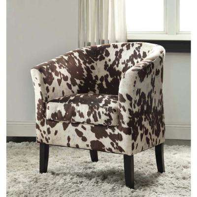 Simon Udder Madness Microfiber Club Arm Chair