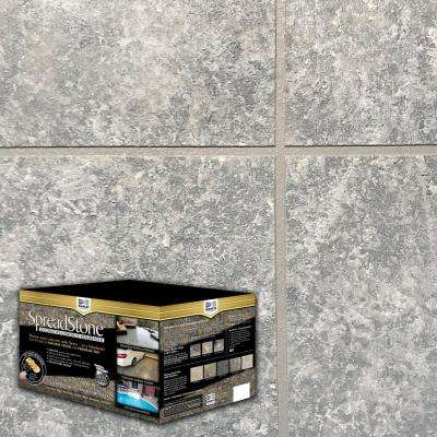 SpreadStone 10 Gal. Summit Grey Satin Interior/Exterior 400 sq.ft. Decorative Concrete Resurfacing Kit