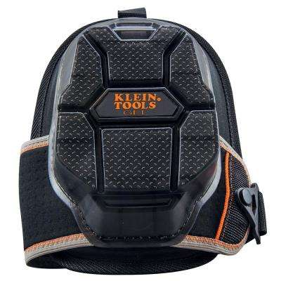 Tradesman Pro 9.5 in. x 7.5 in. x 3.5 in. Black Knee Pads