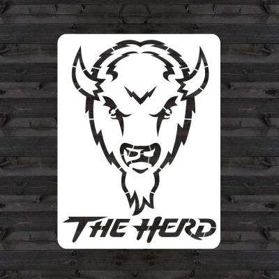 "Marshall ""THE HERD"" Mini Stencil"