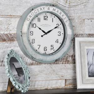FirsTime Vintage Grocery Wall Clock by FirsTime