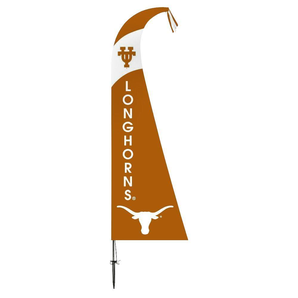 NCAA Texas Longhorns Feather 1 ft. x 1.5 ft. Flag