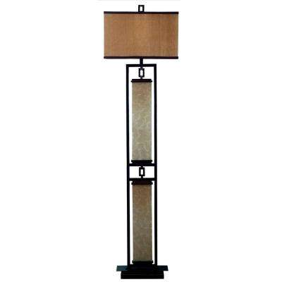 Plateau 61 in. Oil-Rubbed Bronze Floor Lamp