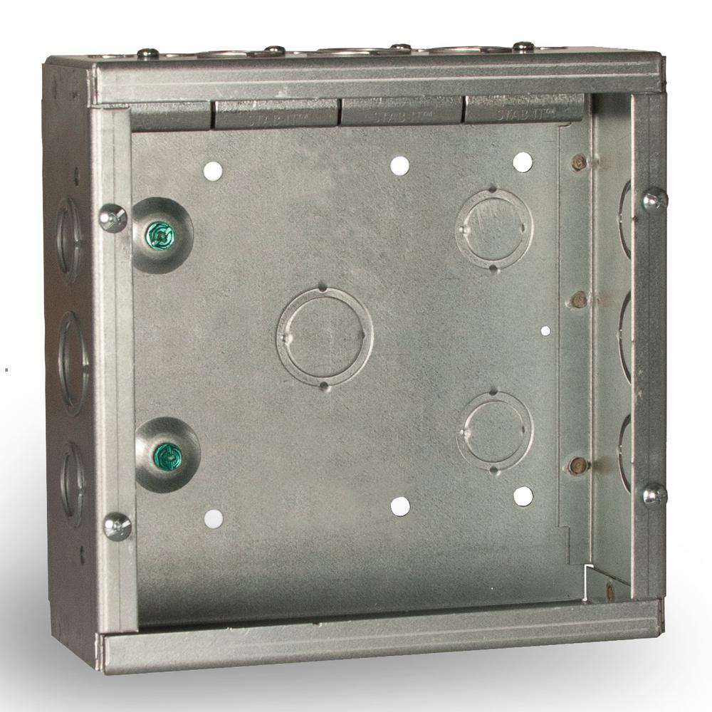Prime Raco 8 In X 8 In Nema 1 Grand Slam Junction Box With Built In Stab Wiring Digital Resources Xeirawoestevosnl