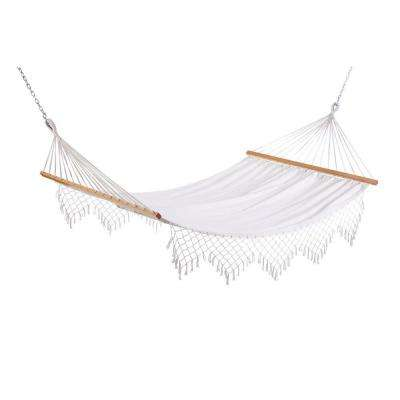 11 ft. Capri Canvas Hammock with Fringe