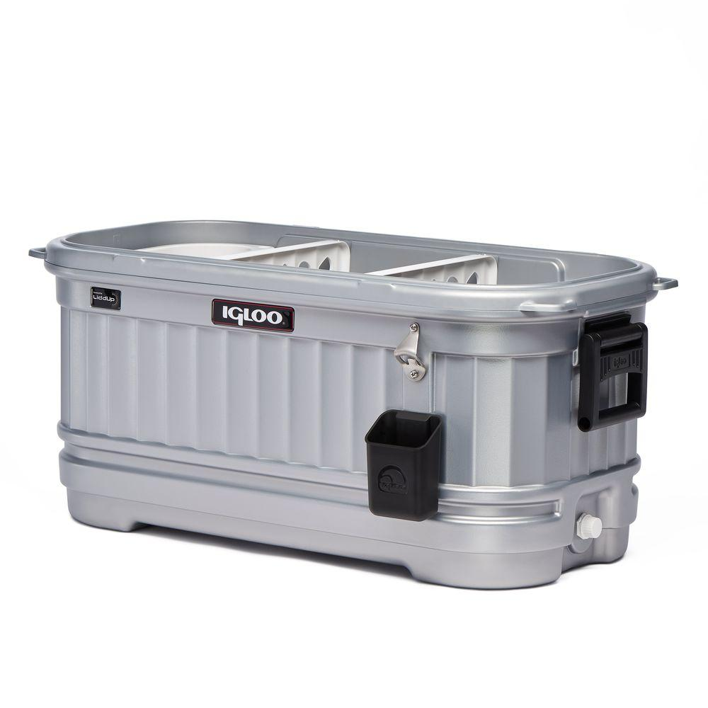 Igloo 125 Qt Party Bar Liddup Illuminated Cooler 49271
