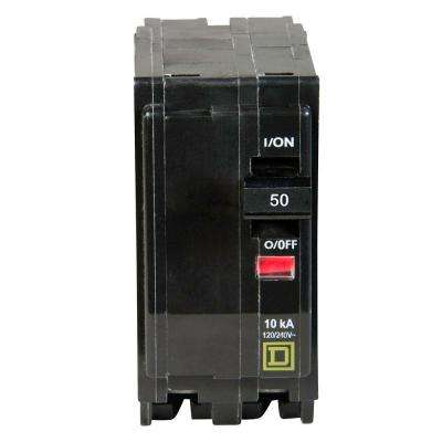 QO 50 Amp 2-Pole Circuit Breaker