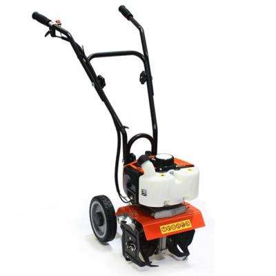 10 in. 40 cc 2-Cycle Mini Gas Cultivator Tiller