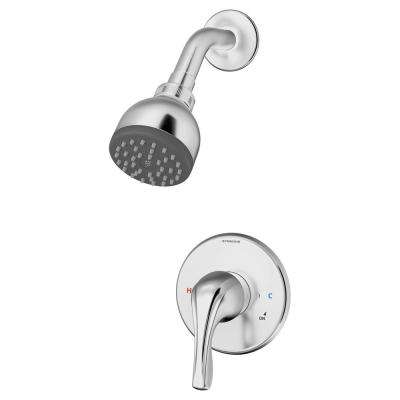 Origins Temptrol Single-Handle 1-Spray Shower Faucet with Stops in Chrome (Valve Included)