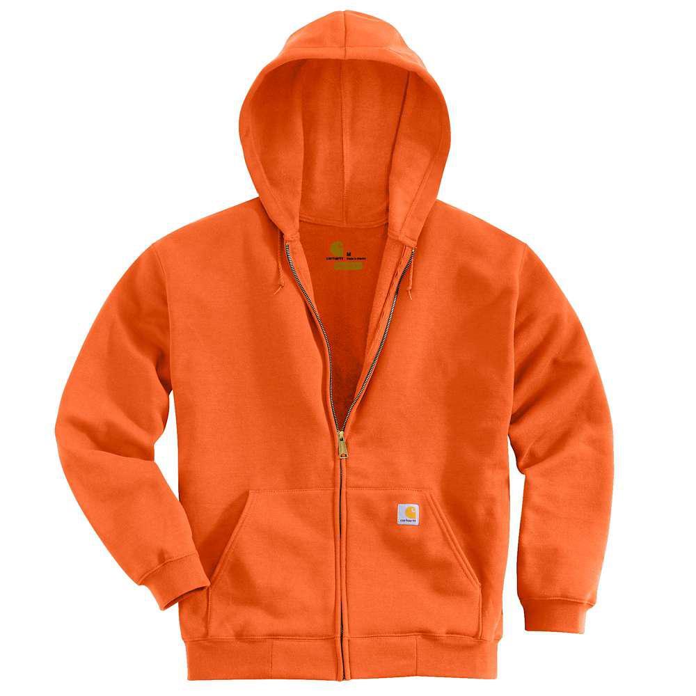 Men's Regular XX Large Orange Cotton/Polyester  Sweats