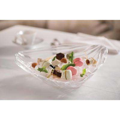 Jin Yu 12.5 in. Decorative Bowl in Clear