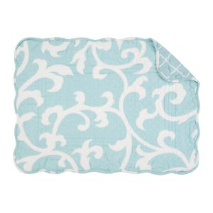 C & F Home Blue Ellie Quilted Placemat (Set of 6) by C & F Home