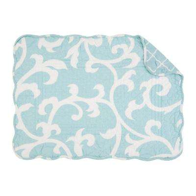 Blue Ellie Quilted Placemat (Set of 6)
