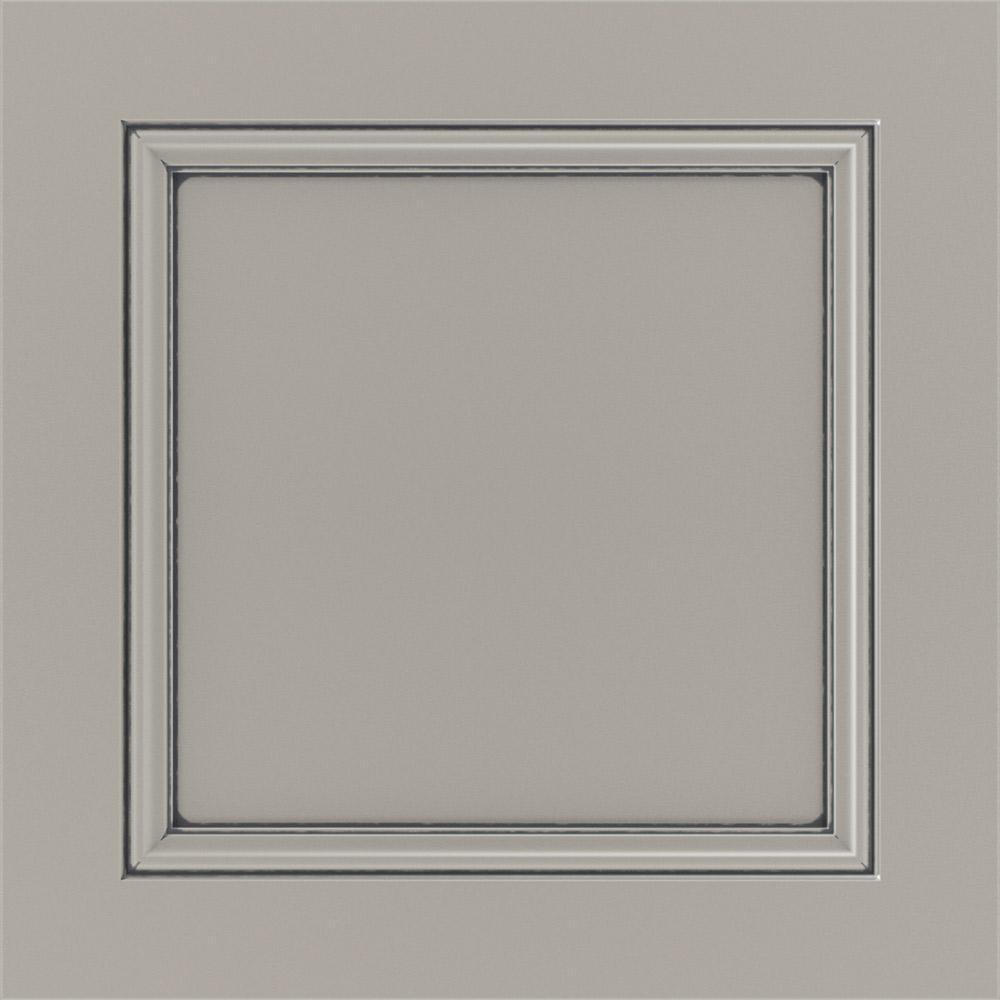 14.5x14.5 in. Cabinet Door Sample in Vance Sterling with Carrara