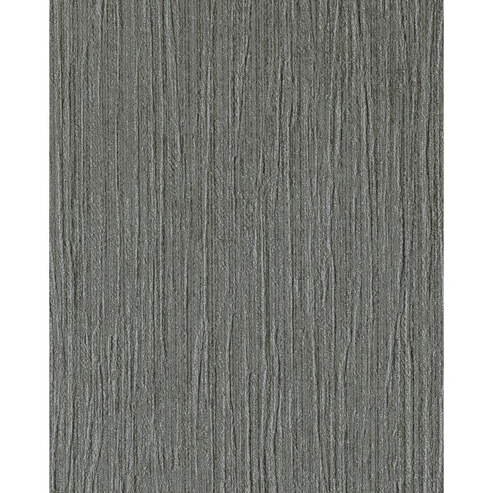 8 in. x 10 in. Hera Black Shadow Textured Wallpaper Sample